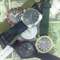 Photo taken at Officine Panerai Boutique NYC by neerad jet .. on 3/13/2014