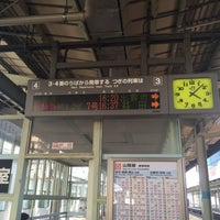 Photo taken at 松江駅 3-4番ホーム by Yong Yee K. on 8/10/2016