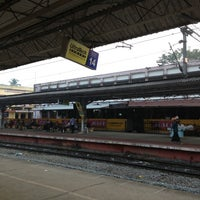 Photo taken at Thrissur Railway Station by Kannan B. on 1/9/2013