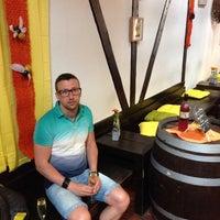 Photo taken at La Ferme aux Sept Grains by Deniss S. on 6/21/2014