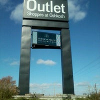 Photo taken at The Outlet Shoppes at Oshkosh by Scott D. on 10/15/2012
