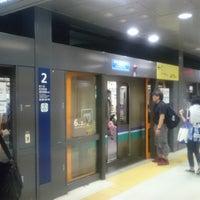 Photo taken at Namboku Line Shirokane-takanawa Station (N03) by K S. on 7/23/2016