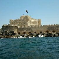 Photo taken at Citadel of Qaitbay by Mohamed M. on 5/5/2013