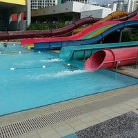 Photo taken at Sengkang Swimming Complex by Ct M. on 3/3/2013