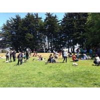 Photo taken at Alta Plaza Park by Constantin B. on 7/7/2013
