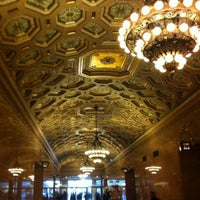 Photo taken at One Grand Central Place by Kristen D. on 11/10/2015