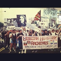 Photo taken at Lesbian Herstory Archives by Jessica H. on 10/26/2012