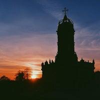 Снимок сделан в Усадьба князей Голицыных в Дубровицах пользователем Алексей К. 10/26/2014