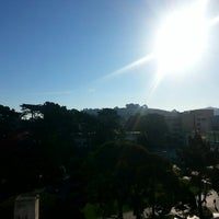Photo taken at Top Of Campus - SFSU by Hatice U. on 2/3/2014