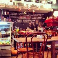 Photo taken at Лавка и кафе Студии Артемия Лебедева by Алексей С. on 10/25/2012