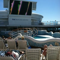 Photo taken at Aboard The Grand Princess by Shana B. on 12/22/2012