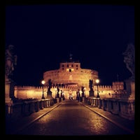 Photo taken at Ponte Sant'Angelo by Emmanuele B. on 9/28/2012