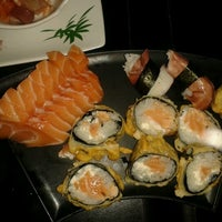 Photo taken at Sushi Laranjeiras by Arianna C. on 10/22/2012