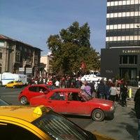 Photo taken at Opera Otobüs Durakları by Cafer Ş. on 10/29/2012