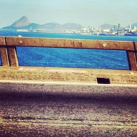 Photo taken at Ponte Rio-Niterói by Andréa Rose R. on 4/28/2013