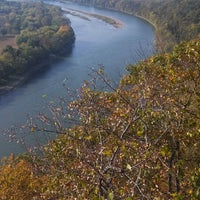 Photo taken at Wyalusing Scenic Overlook by Becky C. on 10/6/2013