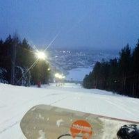 Снимок сделан в ГЛК Гора Пильная пользователем Katya H. 11/27/2013