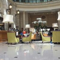 Photo taken at Paris Marriott Champs-Élysées Hotel by Naser A. on 8/16/2013