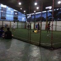 Photo taken at De Futsal by ivan m. on 4/28/2013