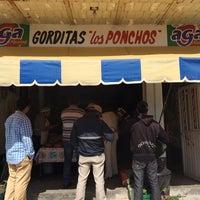 Photo taken at gorditas los ponchos by Gab R. on 8/16/2014
