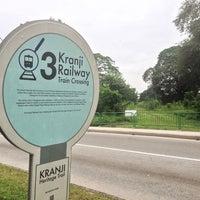 Photo taken at Kranji Railway Train Crossing   Kranji Heritage Trail by gerard t. on 12/31/2013