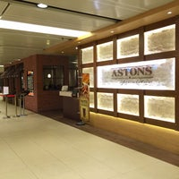 Photo taken at Astons Specialities by gerard t. on 5/3/2015