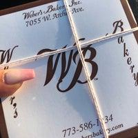 Foto tomada en Weber's Bakery por Valerie P. el 2/14/2018