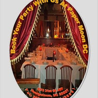 Photo taken at Paper Moon Restaurant by DMV Group M. on 2/4/2013
