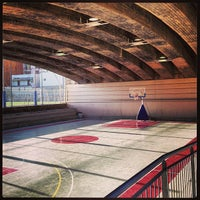 Photo taken at Estadio BasketBall C.P. Roser by Pere P. on 1/26/2013