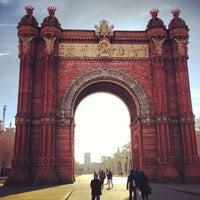 Photo prise au Arc de Triomphe par Pere P. le2/1/2013