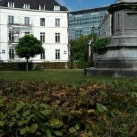 Photo taken at Place des Barricades / Barricadenplein by marc g. on 9/18/2016