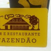 Foto tirada no(a) Bar e Restaurante Fazendão por Fabio G. em 1/27/2013