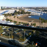 Photo taken at Marina Del Rey Marriott by Angie E. on 10/27/2012