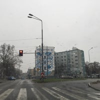 Photo taken at Plac Rodła by Paweł K. on 11/25/2015