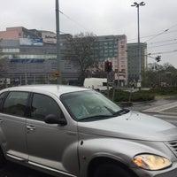 Photo taken at Plac Rodła by Paweł K. on 4/15/2017