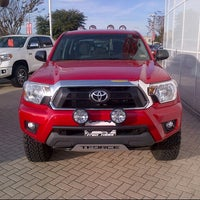 Photo taken at Fred Haas Toyota World by Maury B. on 1/3/2014