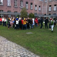 Photo taken at IVV Sint-Vincentius - Campus Molenaarsstraat by Stéphanie S. on 2/21/2013