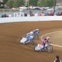 Photo taken at Costa Mesa Speedway by Harley C. on 6/2/2013