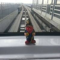 Photo taken at SFO AirTrain Station by Harley C. on 1/25/2013