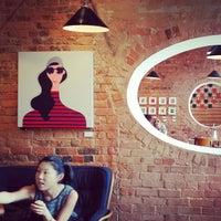 Photo taken at Bookclub Garden by Giuditta D. on 6/7/2014