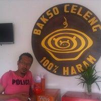 Photo taken at Bakso Celeng 100% Haram by Paman B. on 7/12/2013