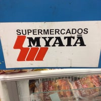 Photo taken at Supermercado Myatã Coral by Inês W. on 11/1/2013