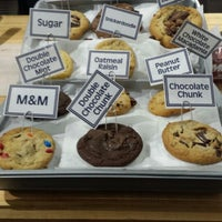 Photo taken at Insomnia Cookies by Geraldine A. on 1/26/2014