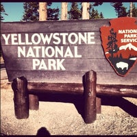 Photo taken at Yellowstone National Park by Jackson on 10/11/2012