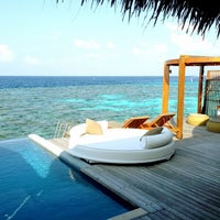 Photo taken at W Retreat & Spa - Maldives by Christian R. on 1/8/2013