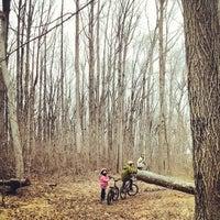 Photo taken at Wolfe's Pond Park by Min O. on 3/23/2014