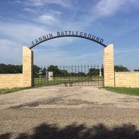 Photo taken at Fannin Battle Ground State Historic Site by Katt M. on 6/15/2016