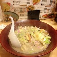 Photo taken at ちゃんぽん家 大光楼 by Kiyokazu O. on 1/7/2013