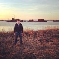 Photo taken at Staten Island Tugboat Graveyard by Jeremy H. on 4/6/2013