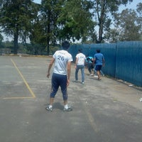 Photo taken at Canchas FCPyS by Ángel R. on 9/20/2012